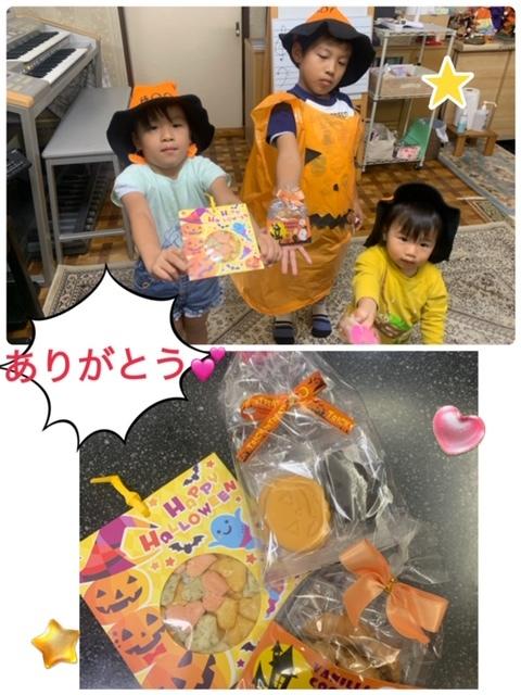 木曜日ハロウィン仮装レッスン☆_e0040673_10510998.jpg