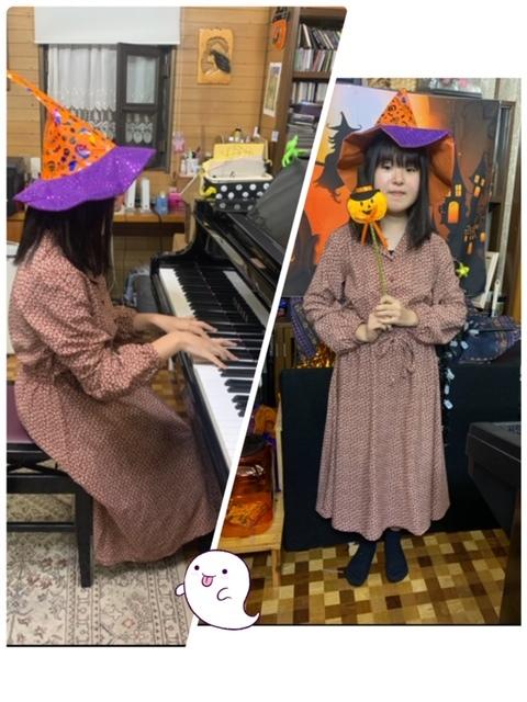 金曜日・ハロウィン仮装レッスン☆_e0040673_22413193.jpg