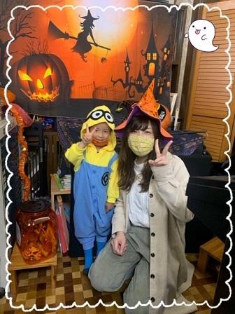 金曜日・ハロウィン仮装レッスン☆_e0040673_22521382.jpg