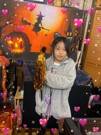 金曜日・ハロウィン仮装レッスン☆_e0040673_22543316.jpg