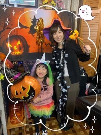 金曜日・ハロウィン仮装レッスン☆_e0040673_22545217.jpg