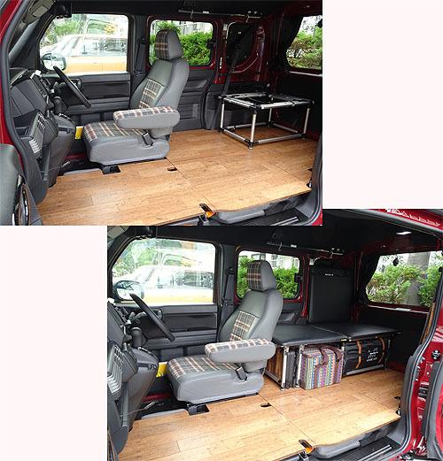 折り畳みテーブルを設置_c0137404_09063956.jpg
