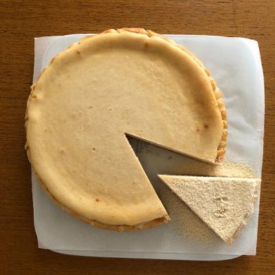 きなこのチーズケーキ_b0102217_12282161.jpg