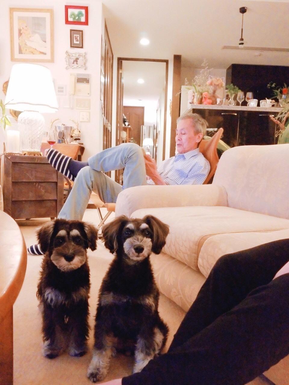 ボニーとアンとの楽しい晩餐♪_d0339889_15512261.jpg