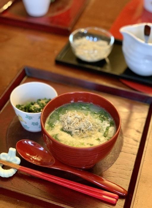 トマトパン粥 など 朝食写真_e0178312_03032416.jpeg