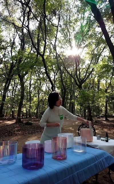 ありがとう☆クリスタルボウル瞑想会in今昔村_d0085018_16172871.jpg