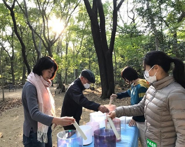 ありがとう☆クリスタルボウル瞑想会in今昔村_d0085018_16383226.jpg