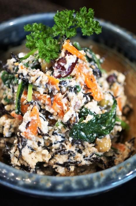 ■和食副菜【6品目入りの白和え】ほっこり~心和む美味しさでヘルシーです♪_b0033423_18554005.jpg