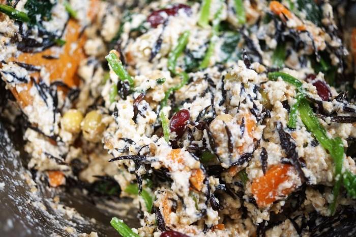 ■和食副菜【6品目入りの白和え】ほっこり~心和む美味しさでヘルシーです♪_b0033423_19245501.jpg