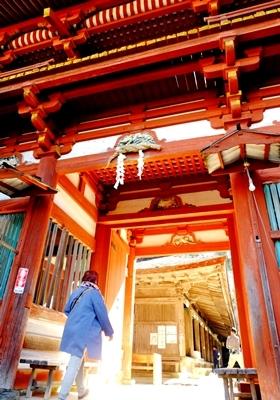 紅葉の吉野山を散策♪_b0194861_21072125.jpg