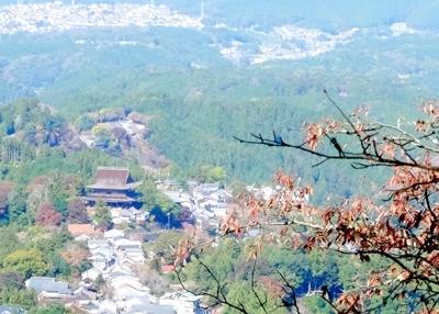紅葉の吉野山を散策♪_b0194861_21080853.jpg