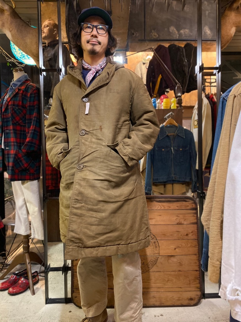 11月4日(水)マグネッツ大阪店Vintage入荷日!! #1 U.S.Navy編!! 13starButton P-Coat, WatchCap,N-2 Deck,N-1 Deck!!_c0078587_20531371.jpg
