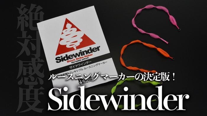 「Sidewinder」プロモーションビデオ_c0095801_21374707.jpg