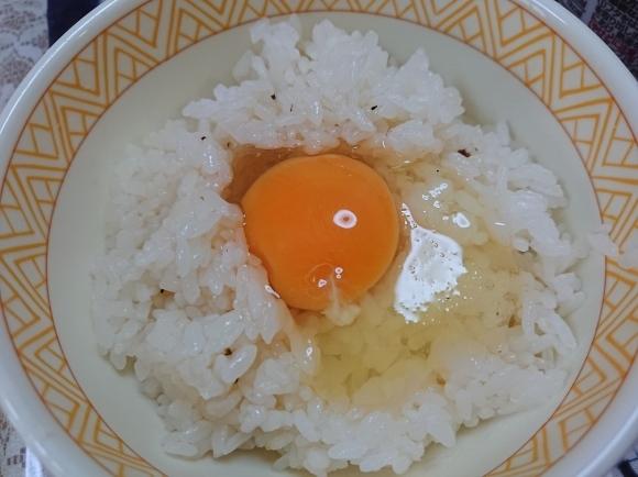 11/2 西友・みなさまのお墨付きもっちりノンフライ麺にんにく醤油、卵かけご飯_b0042308_19582123.jpg