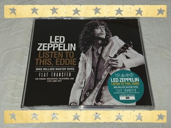 LED ZEPPELIN / LISTEN TO THIS,EDDIE FLAT TRANSFER_b0042308_20033441.jpg