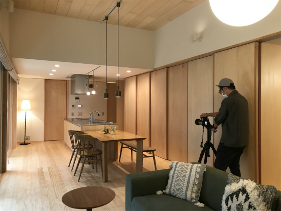NKN(八ツ矢町の家) オープンハウスお礼と竣工写真撮影_a0210340_14403681.jpg