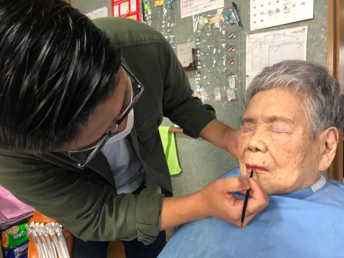 100歳のお祝いヘアメイク☆訪問美容髪んぐの出張ヘアメイク!_f0277245_16414848.jpg