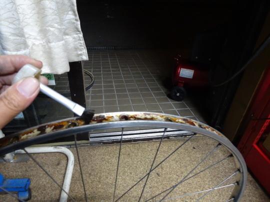 クロモリロードバイクの整備~_e0140354_15510496.jpg