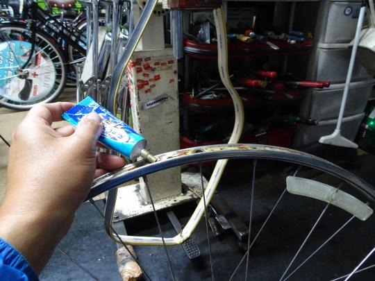 クロモリロードバイクの整備~_e0140354_15514482.jpg