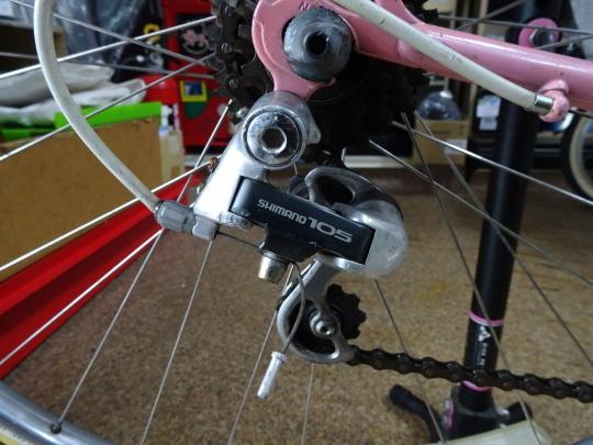 クロモリロードバイクの整備~_e0140354_15535698.jpg