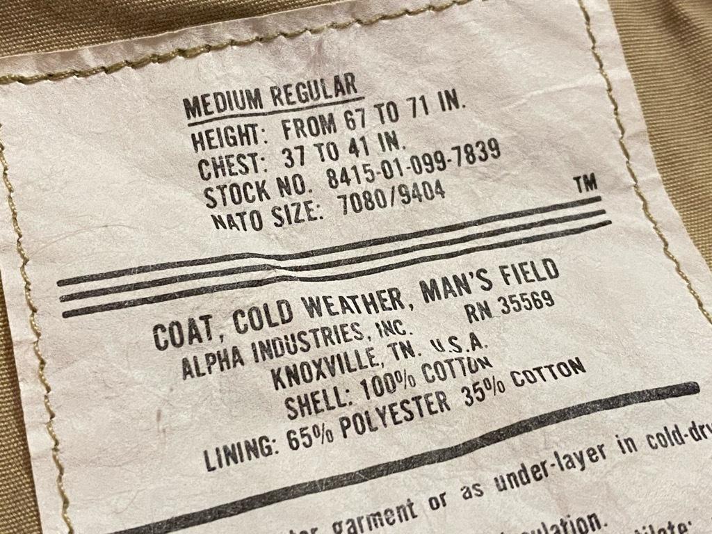 マグネッツ神戸店 M-65 Field Jacketについて。_c0078587_13252605.jpg