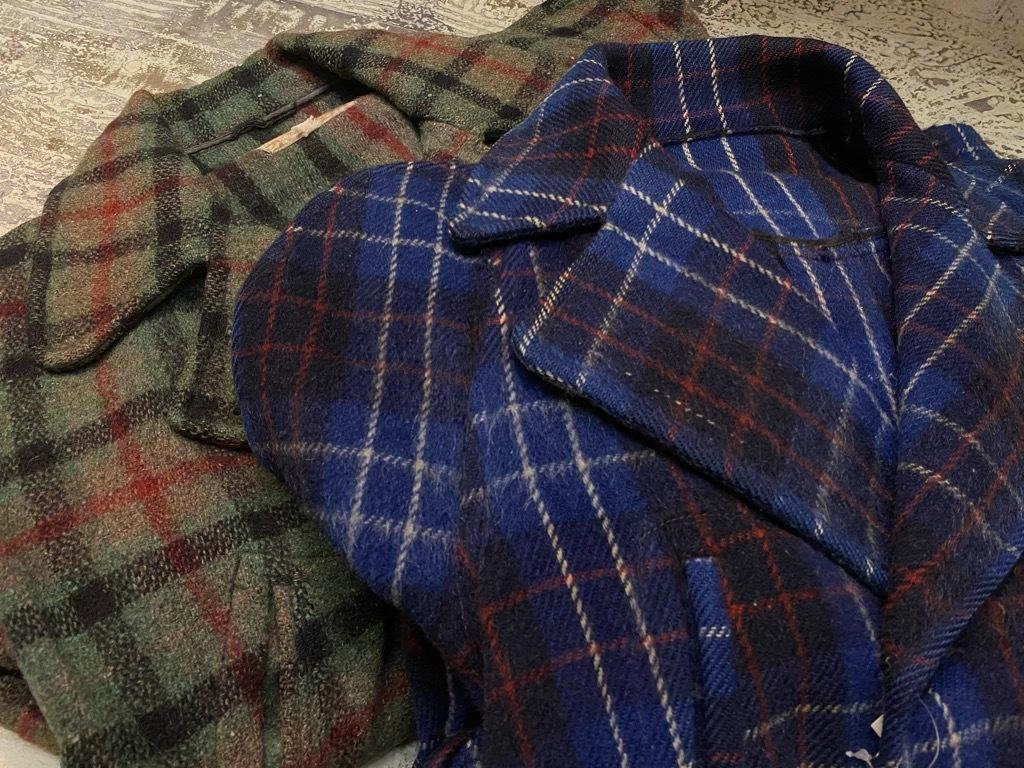 11月4日(水)マグネッツ大阪店Vintage入荷日!! #3 Hunting編!! gordon MackinawCoat,SportsCoat,30s Woolrich,50s RED WING_c0078587_16034254.jpg