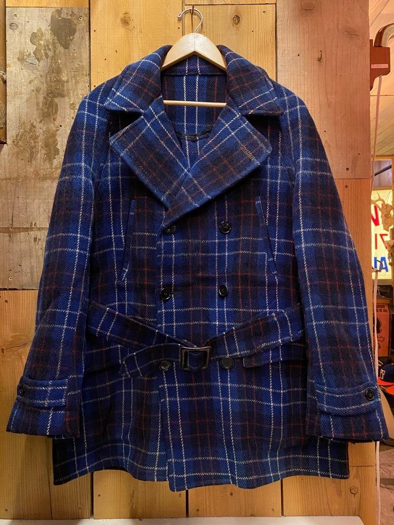 11月4日(水)マグネッツ大阪店Vintage入荷日!! #3 Hunting編!! gordon MackinawCoat,SportsCoat,30s Woolrich,50s RED WING_c0078587_16034519.jpg