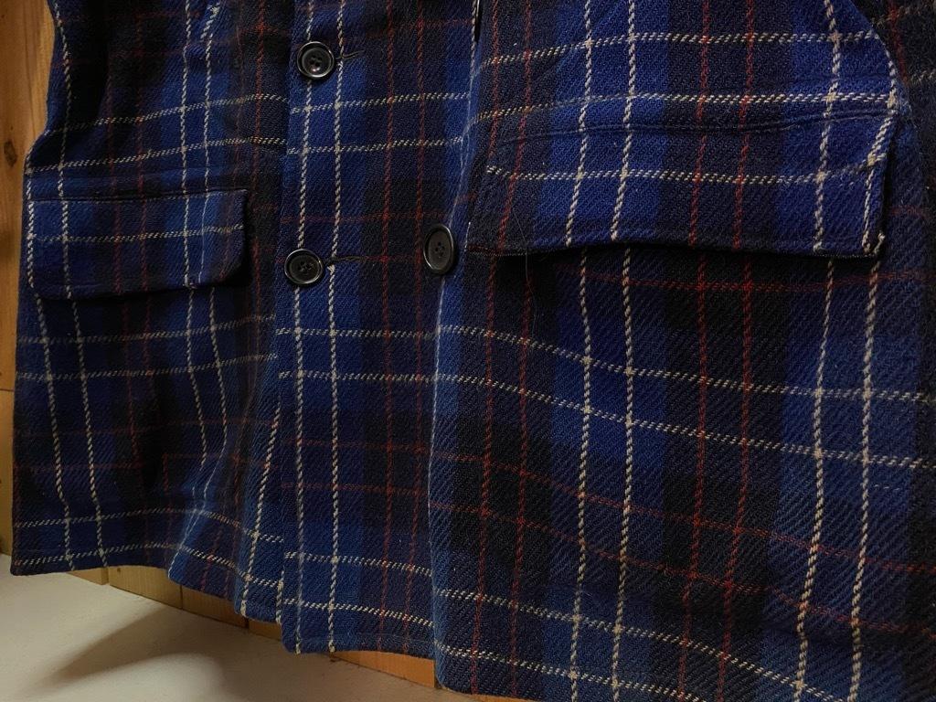 11月4日(水)マグネッツ大阪店Vintage入荷日!! #3 Hunting編!! gordon MackinawCoat,SportsCoat,30s Woolrich,50s RED WING_c0078587_16035438.jpg