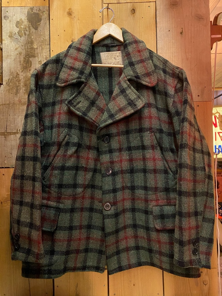 11月4日(水)マグネッツ大阪店Vintage入荷日!! #3 Hunting編!! gordon MackinawCoat,SportsCoat,30s Woolrich,50s RED WING_c0078587_16054425.jpg
