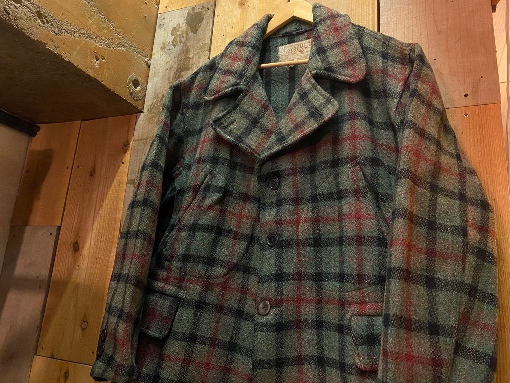 11月4日(水)マグネッツ大阪店Vintage入荷日!! #3 Hunting編!! gordon MackinawCoat,SportsCoat,30s Woolrich,50s RED WING_c0078587_16054878.jpg