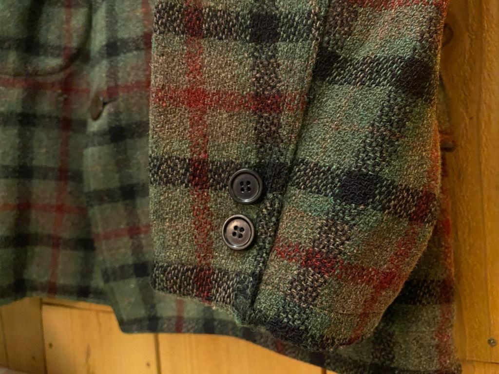 11月4日(水)マグネッツ大阪店Vintage入荷日!! #3 Hunting編!! gordon MackinawCoat,SportsCoat,30s Woolrich,50s RED WING_c0078587_16055637.jpg
