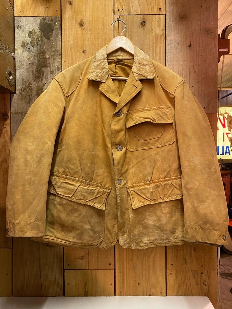 11月4日(水)マグネッツ大阪店Vintage入荷日!! #3 Hunting編!! gordon MackinawCoat,SportsCoat,30s Woolrich,50s RED WING_c0078587_16154188.jpg