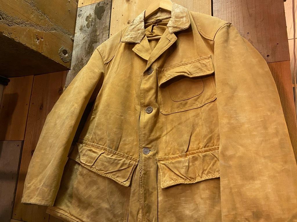 11月4日(水)マグネッツ大阪店Vintage入荷日!! #3 Hunting編!! gordon MackinawCoat,SportsCoat,30s Woolrich,50s RED WING_c0078587_16154408.jpg