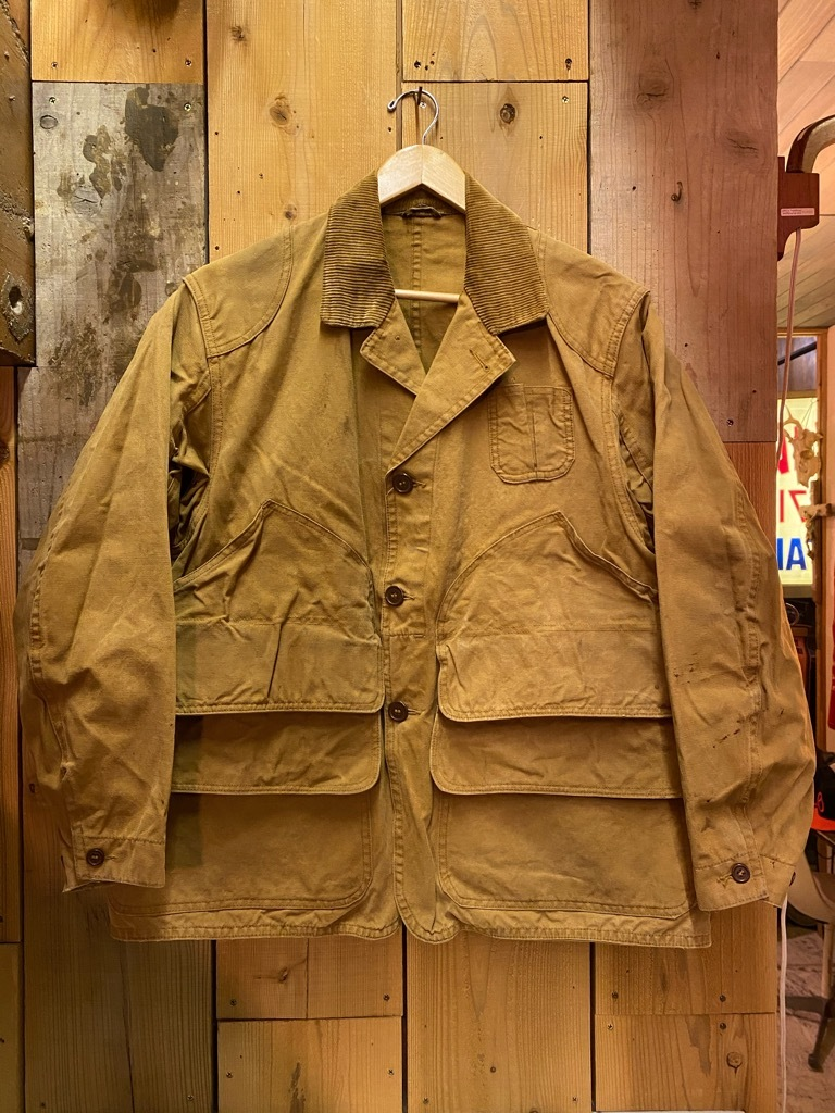 11月4日(水)マグネッツ大阪店Vintage入荷日!! #3 Hunting編!! gordon MackinawCoat,SportsCoat,30s Woolrich,50s RED WING_c0078587_16193595.jpg