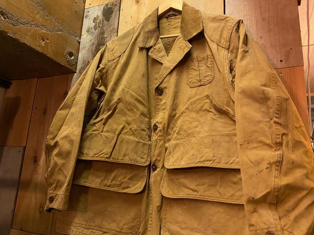 11月4日(水)マグネッツ大阪店Vintage入荷日!! #3 Hunting編!! gordon MackinawCoat,SportsCoat,30s Woolrich,50s RED WING_c0078587_16193987.jpg