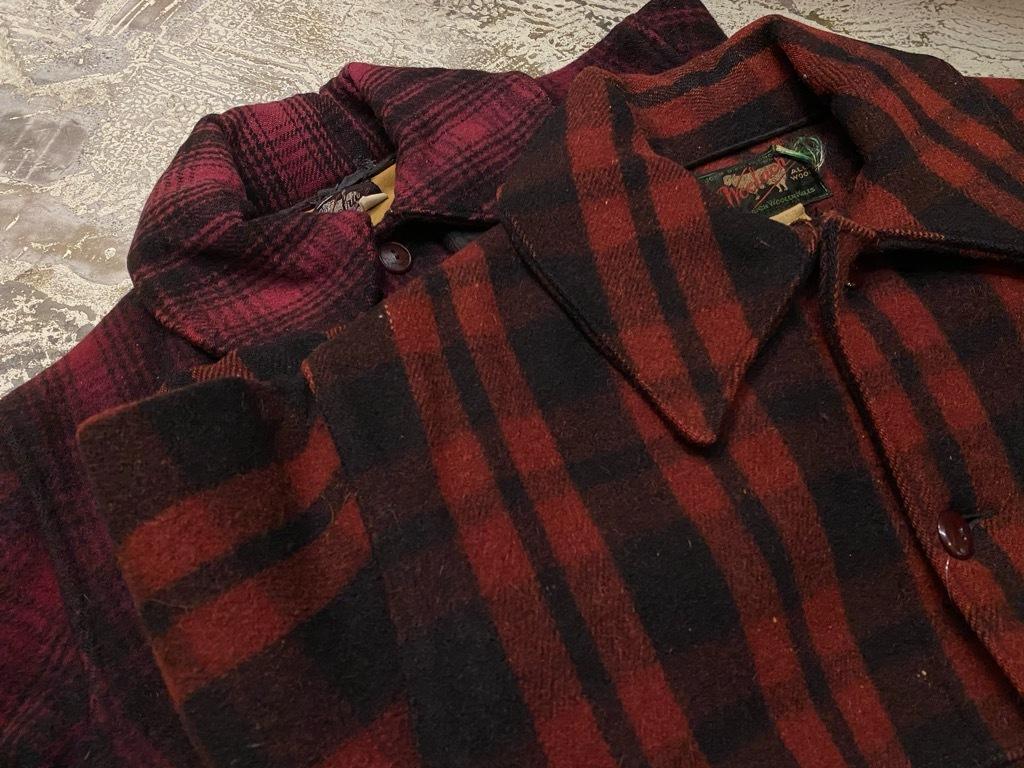 11月4日(水)マグネッツ大阪店Vintage入荷日!! #3 Hunting編!! gordon MackinawCoat,SportsCoat,30s Woolrich,50s RED WING_c0078587_16212383.jpg