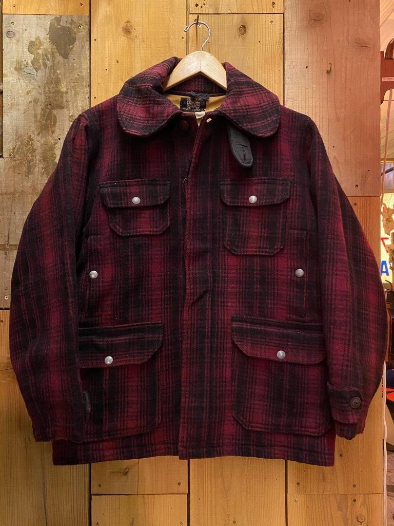 11月4日(水)マグネッツ大阪店Vintage入荷日!! #3 Hunting編!! gordon MackinawCoat,SportsCoat,30s Woolrich,50s RED WING_c0078587_16230556.jpg