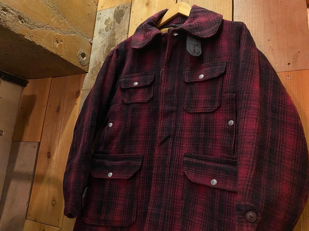 11月4日(水)マグネッツ大阪店Vintage入荷日!! #3 Hunting編!! gordon MackinawCoat,SportsCoat,30s Woolrich,50s RED WING_c0078587_16230892.jpg