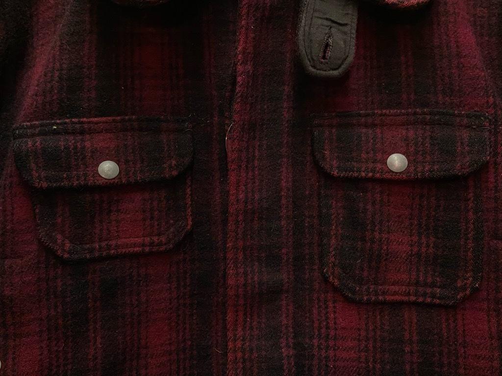 11月4日(水)マグネッツ大阪店Vintage入荷日!! #3 Hunting編!! gordon MackinawCoat,SportsCoat,30s Woolrich,50s RED WING_c0078587_16231369.jpg