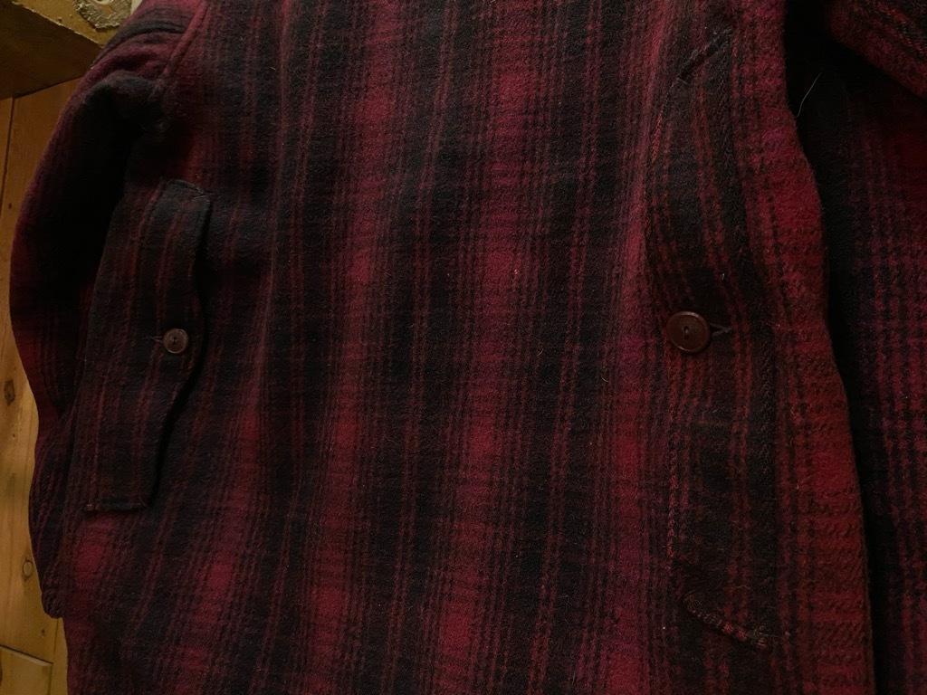 11月4日(水)マグネッツ大阪店Vintage入荷日!! #3 Hunting編!! gordon MackinawCoat,SportsCoat,30s Woolrich,50s RED WING_c0078587_16232575.jpg