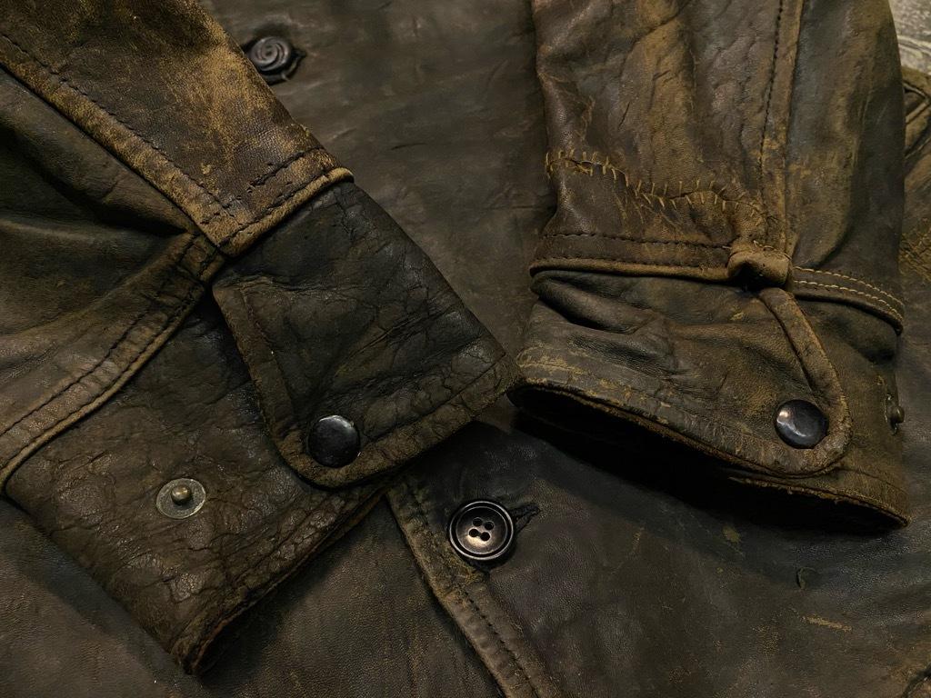 11月4日(水)マグネッツ大阪店Vintage入荷日!! #5ボロ!?編 20\'s~HorsehideCarCoat,LeatherSportsJKT,ScrapItem!!_c0078587_18343098.jpg