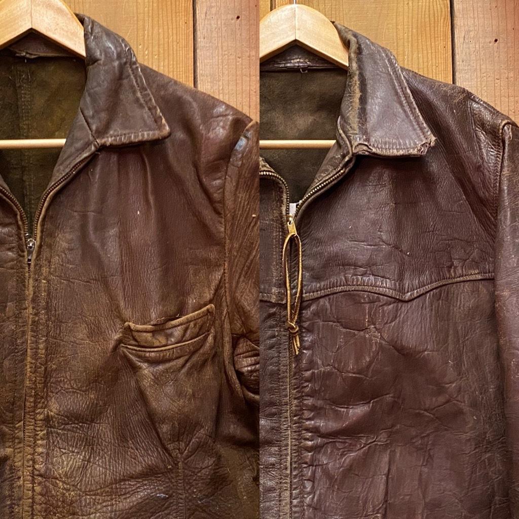 11月4日(水)マグネッツ大阪店Vintage入荷日!! #5ボロ!?編 20\'s~HorsehideCarCoat,LeatherSportsJKT,ScrapItem!!_c0078587_18371247.jpg
