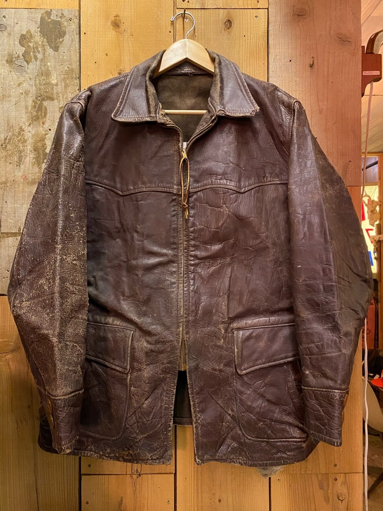 11月4日(水)マグネッツ大阪店Vintage入荷日!! #5ボロ!?編 20\'s~HorsehideCarCoat,LeatherSportsJKT,ScrapItem!!_c0078587_18515236.jpg