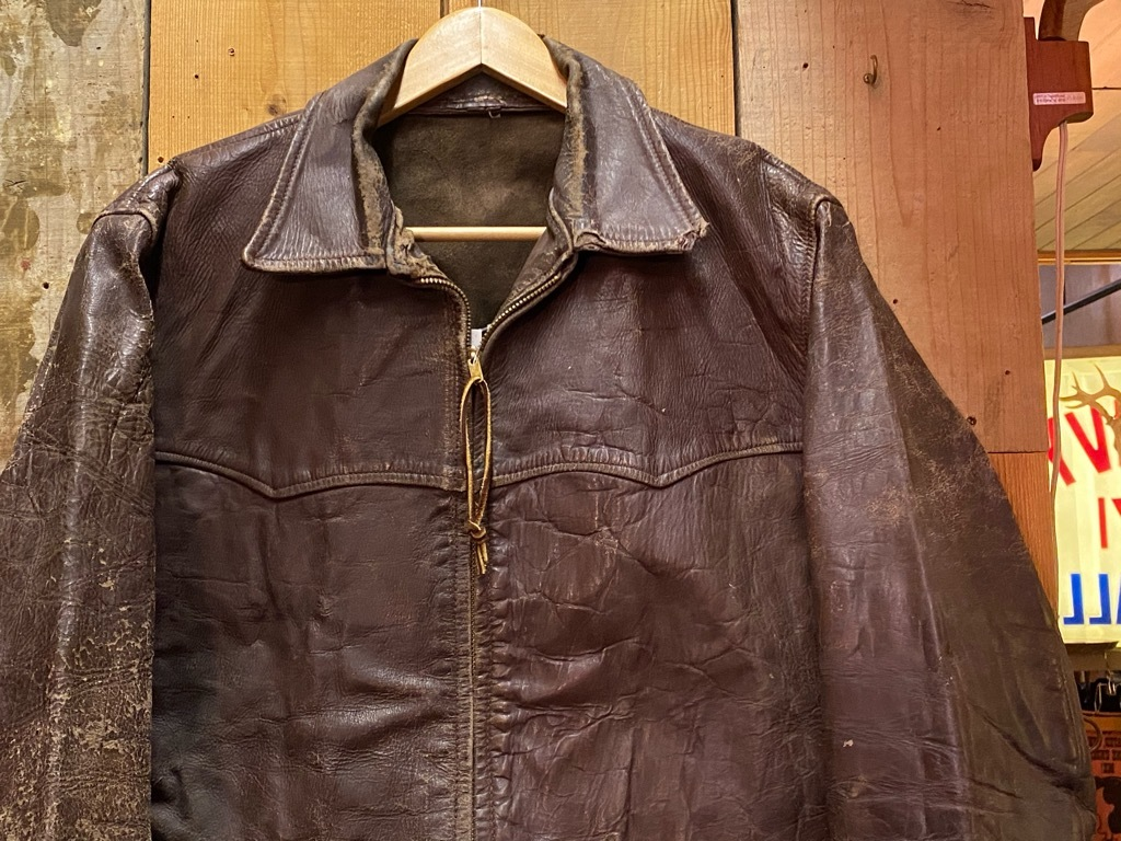 11月4日(水)マグネッツ大阪店Vintage入荷日!! #5ボロ!?編 20\'s~HorsehideCarCoat,LeatherSportsJKT,ScrapItem!!_c0078587_18515486.jpg