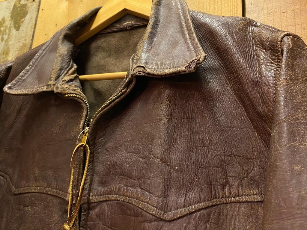 11月4日(水)マグネッツ大阪店Vintage入荷日!! #5ボロ!?編 20\'s~HorsehideCarCoat,LeatherSportsJKT,ScrapItem!!_c0078587_18515745.jpg