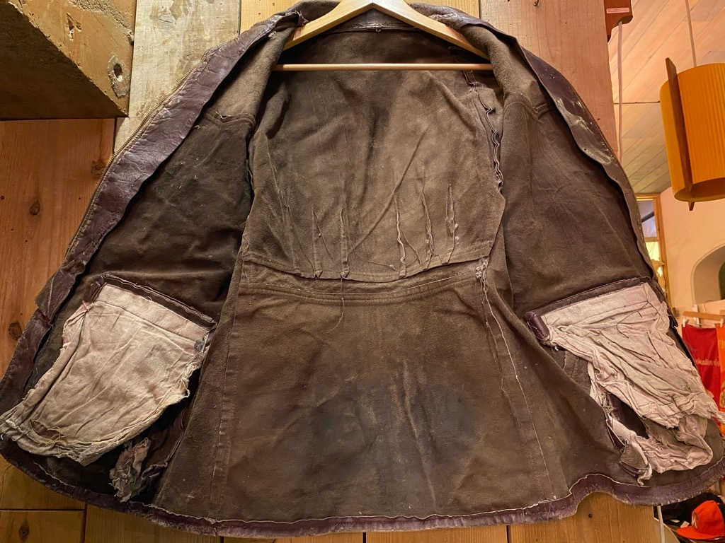 11月4日(水)マグネッツ大阪店Vintage入荷日!! #5ボロ!?編 20\'s~HorsehideCarCoat,LeatherSportsJKT,ScrapItem!!_c0078587_18520531.jpg