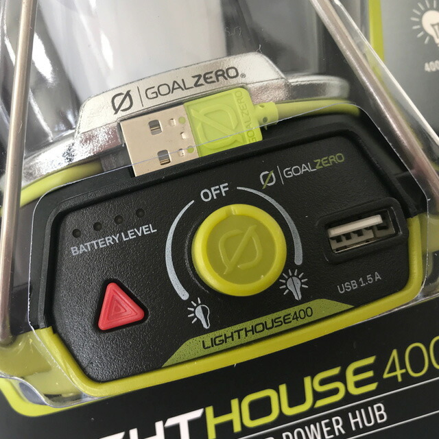 GOAL ZERO [ゴールゼロ] LIGHTHOUSE 400 [32004] ライトハウス400・LEDライト・MEN\'S/LADY\'S _f0051306_15255482.jpg