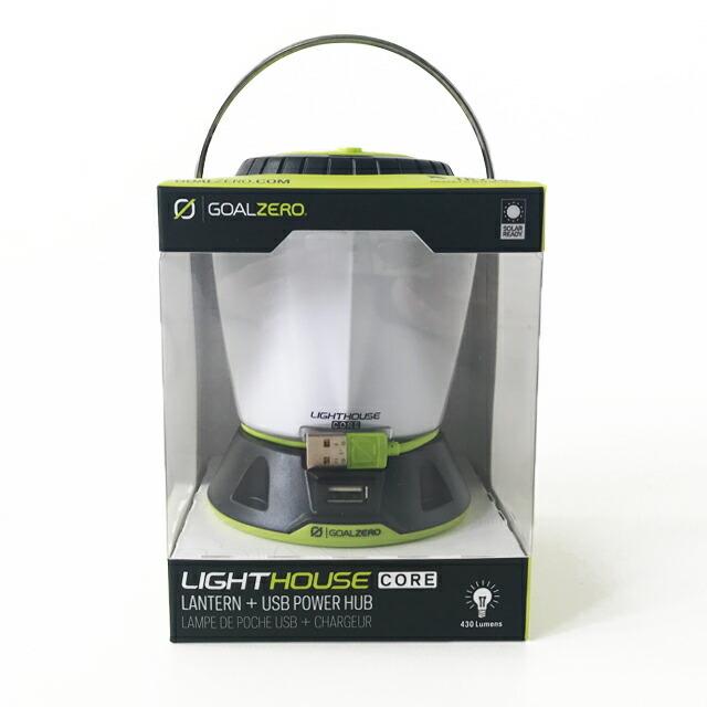 GOAL ZERO [ゴールゼロ] LIGHTHOUSE CORE LANTERN & USB POWER HUB [32009] コアランタン&USBパワーハブ・MEN\'S/LADY\'S _f0051306_15324307.jpg