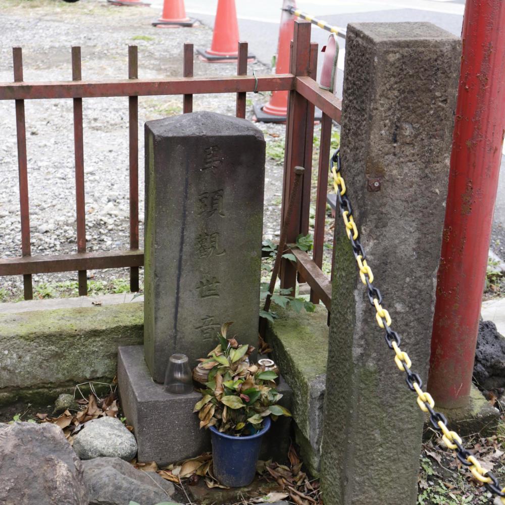 雑司ヶ谷駅近くの稲荷神社に富士塚の痕跡_c0060143_18451958.jpg