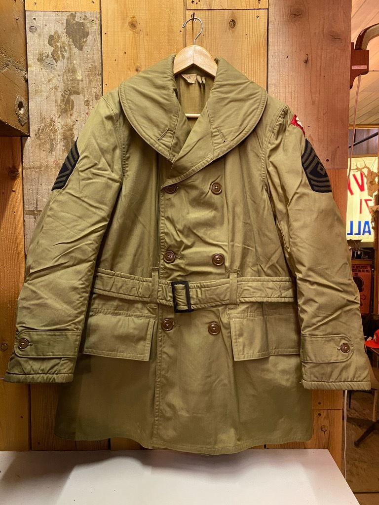 11月4日(水)マグネッツ大阪店Vintage入荷日!! #6 U.S.Army Part1編 M-42 Mackinaw,M-41 FieldJKT,Hi-NeckSweater!!_c0078587_17252314.jpg